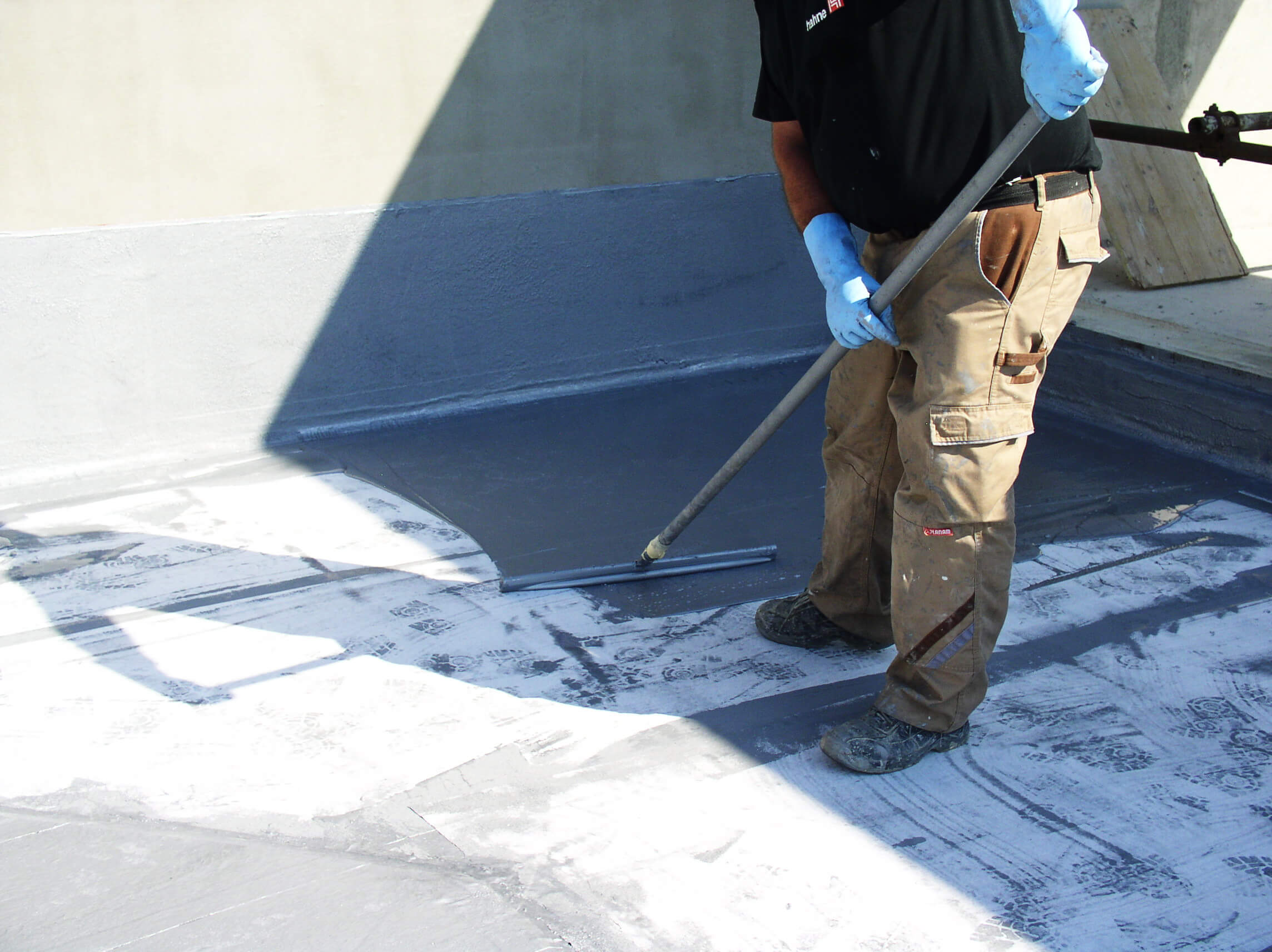 Second waterproofing layer